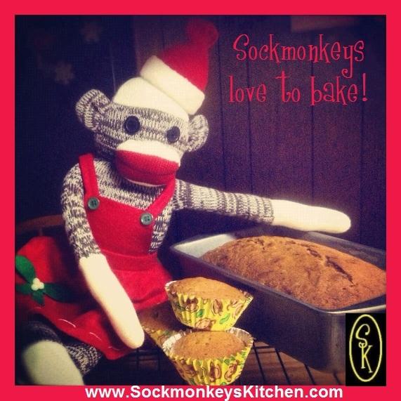 Baking Sockmonkey