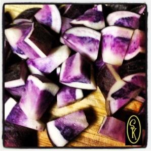 Purple Potato from www.SockmonkeysKitchen.com