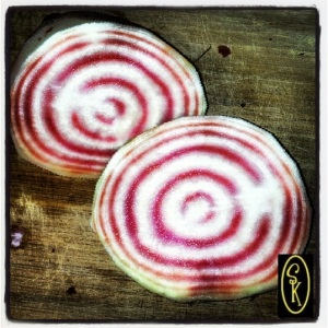 Striped Beets from www.SockmonkeysKitchen.com