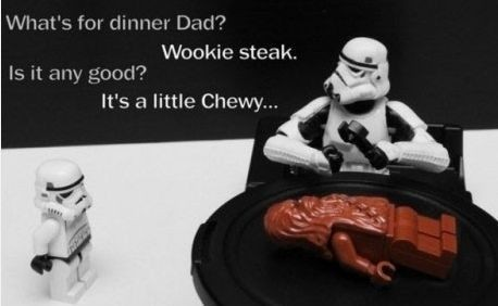 Gotta love the Star Wars Lego Humor