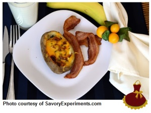 Stuffed Breakfast Potato  6