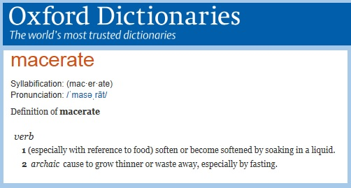 Oxford Dictionary definition of