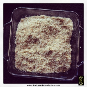 Mix all spices into crumbs