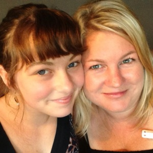 Emily & Tracie, who are more like family than friends =0)