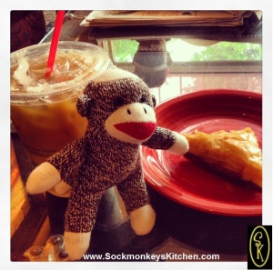 Time for a caffeine and sugar break! Nigel loves baklava, especially in Manitou Springs, Colorado.