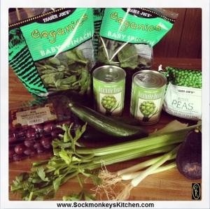 ingredients for Summer Salad