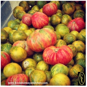 Heirloom Tomatoes: Super sweet, super juicy