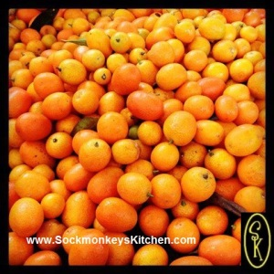 Kumquats:Sweet peels & super sour citrusy tang inside