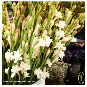 One of my very favorite scents: Tuberose