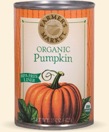 Sprouts carries this brand of organic canned pumpkin. It has true pumpkin taste, unlike Libby's.