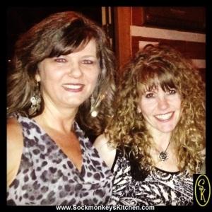 Lisa, Queen of Line Dancing, and me =0)
