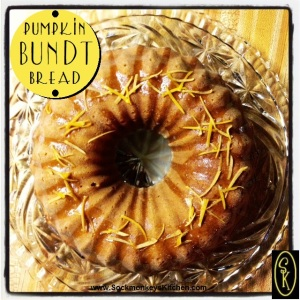 Pumpkin Bundt Bread