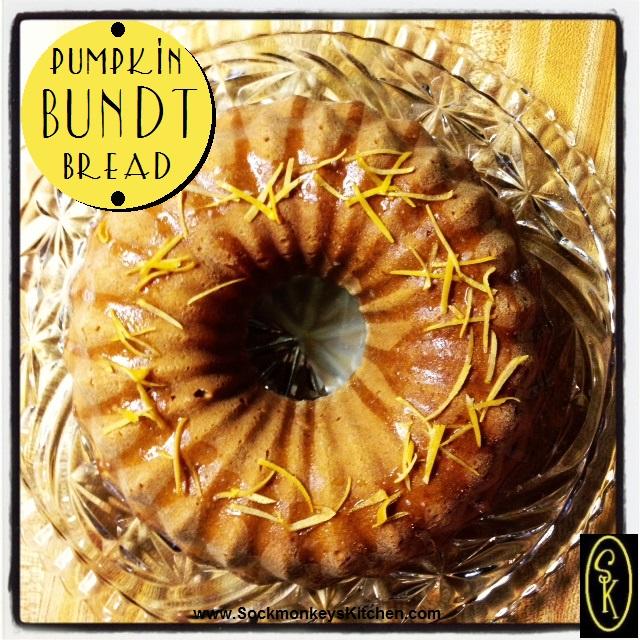 Pumpkin Bundt Bread
