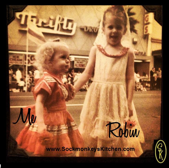 August, 1968. Celebrating Old Spanish Days in our home town, Santa Barbara, CA. Viva La Fiesta!