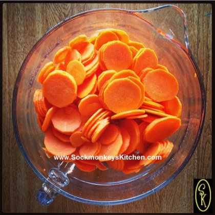 If you slice your carrots in a food processor, you'll have the whole batch done in under 2 minutes :)