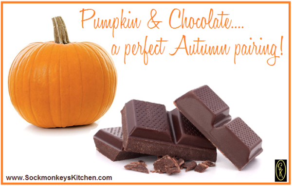 pumpkin and chocolate
