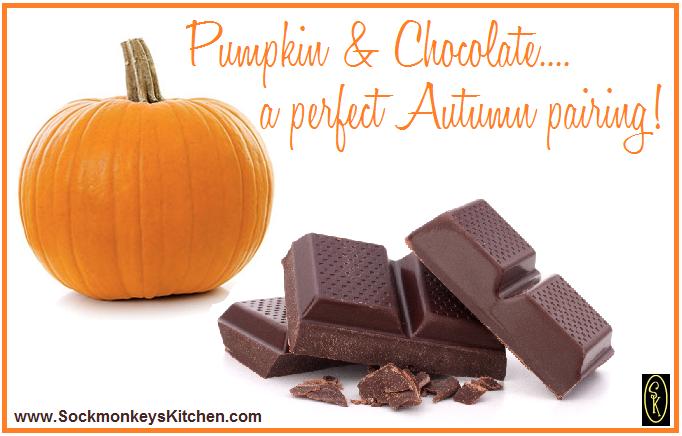 pumpkin and chocolate