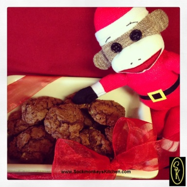 chocolate cookies, chocolate nut cookies, rich chocolate