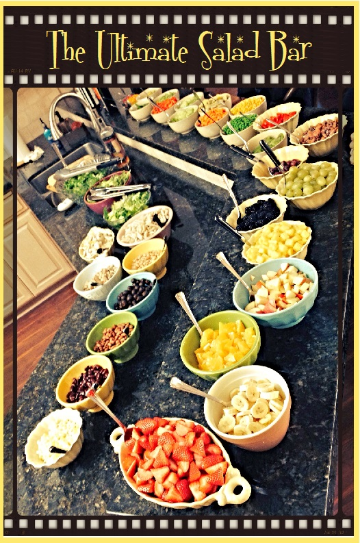 Ultimate Salad Bar from www.SockmonkeysKitchen