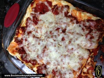 Lasagna is always a good idea for feeding a crowd!