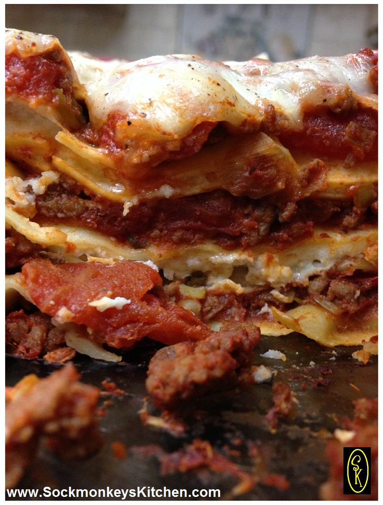 This lasagna never lets me down!