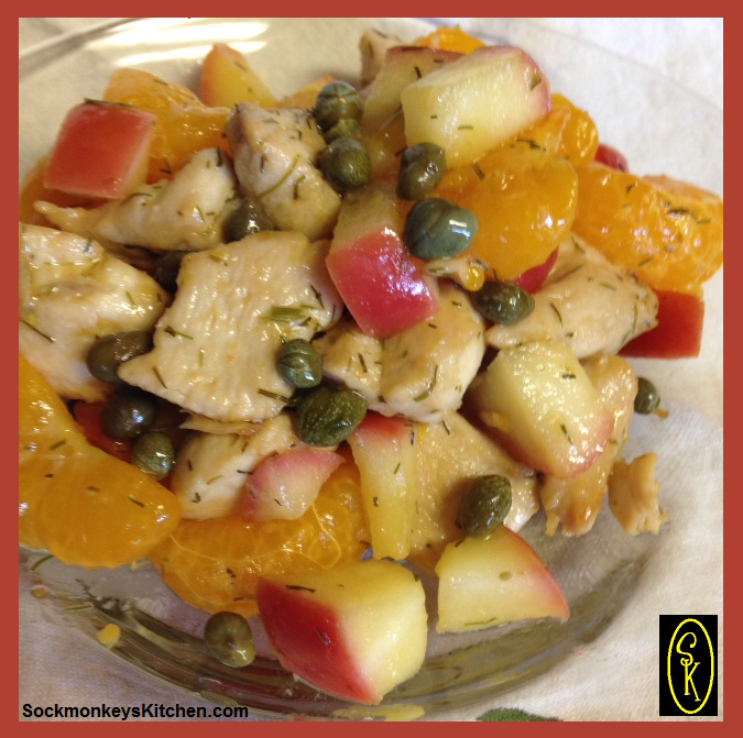 Sweet and Tangy Caper Chicken 2
