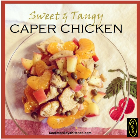 sweet and Tangy Caper Chicken 3