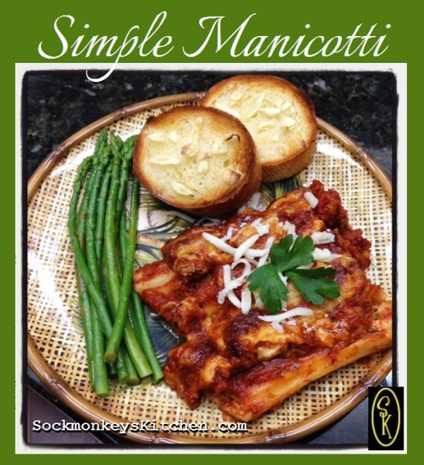 Simple Manicotti