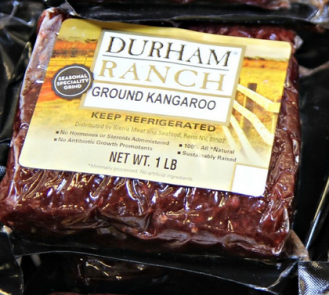 Kangaroo Meat - Yay!