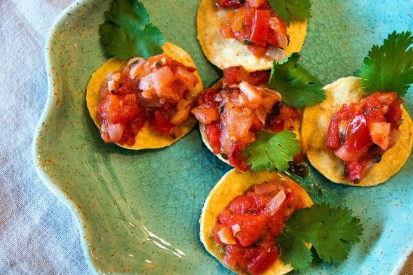 chef mimis peach salsa 2
