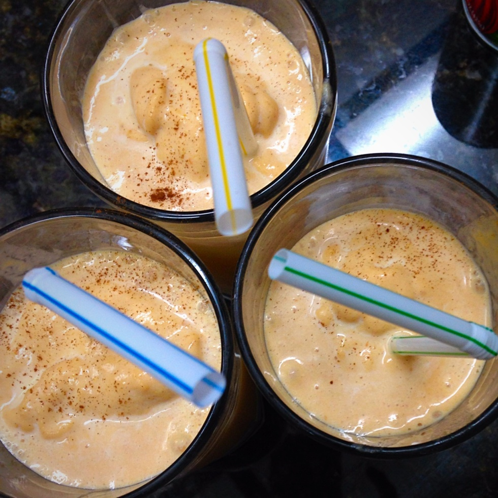 How to make a pumpkin milkshake