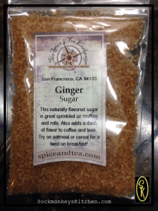 ginger sugar