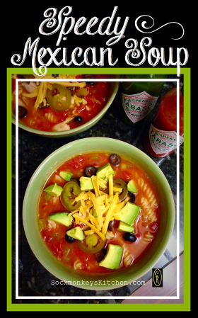 Speedy Mexican Soup