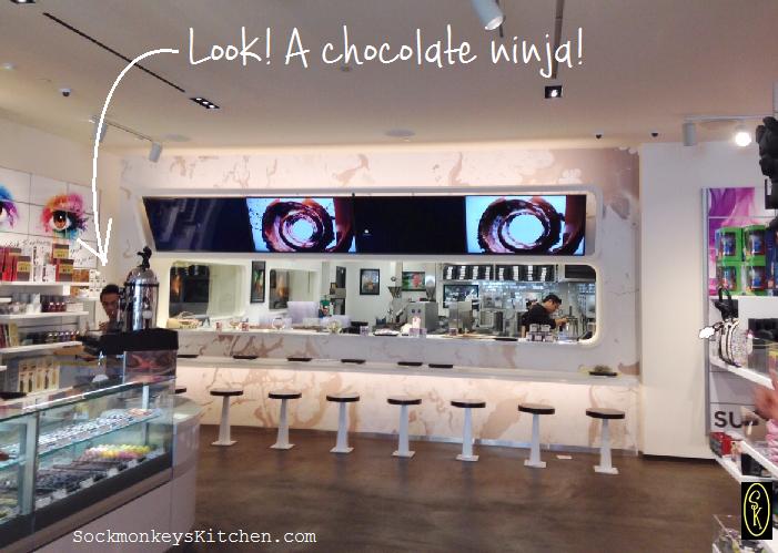 Hexx chocolate ninja