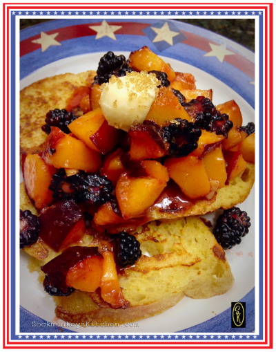 Start your July 4th with this delicious summer breakfast!