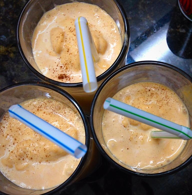 Pumpkin Spice Milkshake