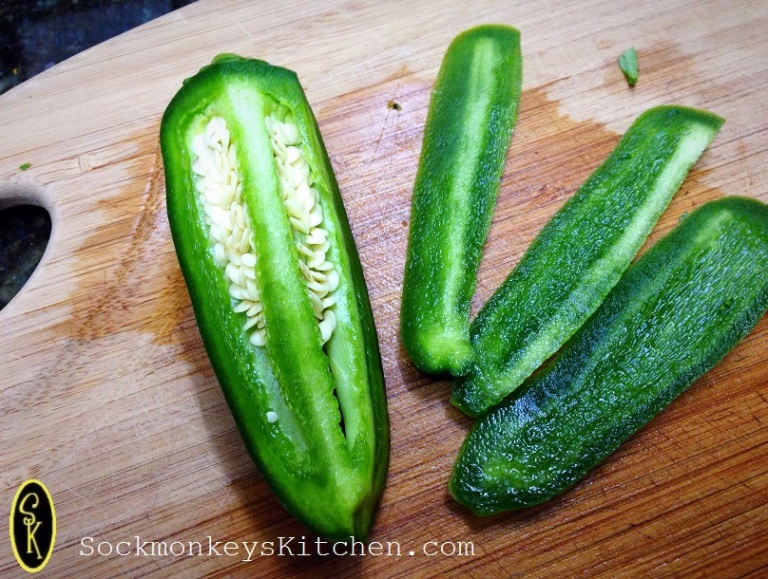 Avoiding jalapeno seeds